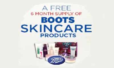Win Free Boots Skincare Products