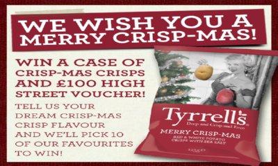 Win Free Tyrrells Christmas Crisps