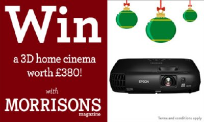 Win a 3D Home Cinema worth £380