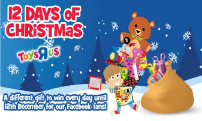 Win Free Toys i the Toys'R'us Advent Calendar
