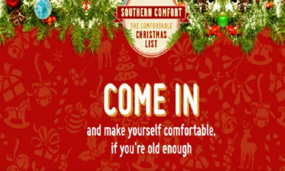 Win Your Christmas Wishlist with Southern Comfort