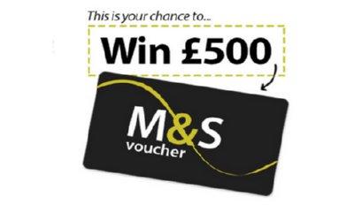 Win a £500 M&S Voucher