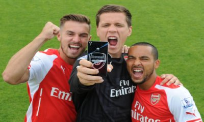 Win a Huawei Ascend P7 Arsenal Edition Phone + Arsenal Shirt