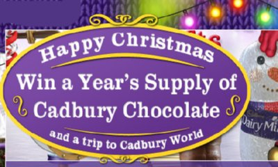 Win a Year's Supply of Cadbury's Chocolate