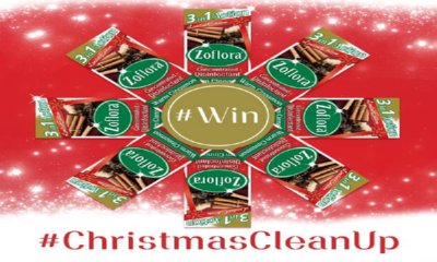 Zoflora Christmas Clean Up