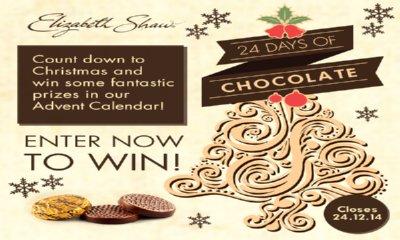 Elizabeth Shaw Advent Calendar of Chocolate