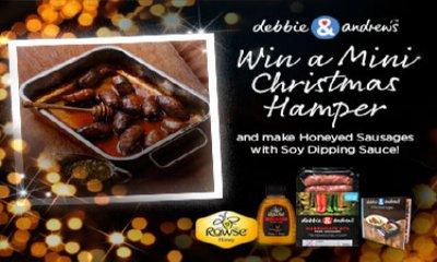 Win 1 of 30 Mini Hampers with Debbie&Andrew's