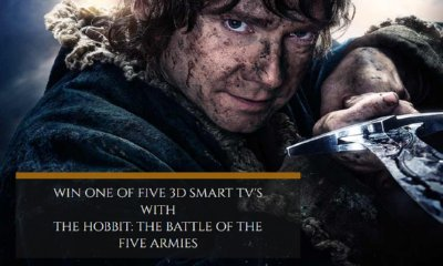 Win 1 of 5 32″ 3D Smart TV