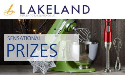 Win KitchenAid Kit, £1000 of Lakeland Gift Vouchers