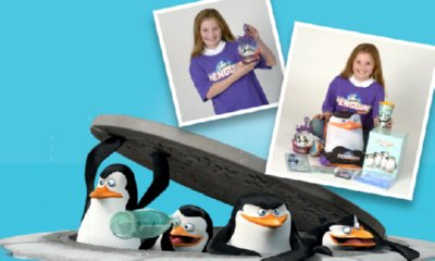 Win One of Ten Penguins of Madagascar Goody Bags