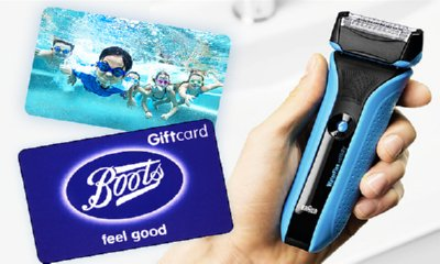 Win a Camera, a Tablet, a Shaver and Boots Vouchers