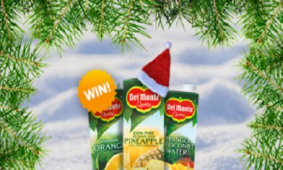 Win Free Del Monte Juice Carton